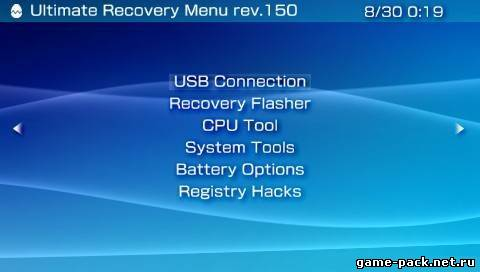 Psp 3000 recovery